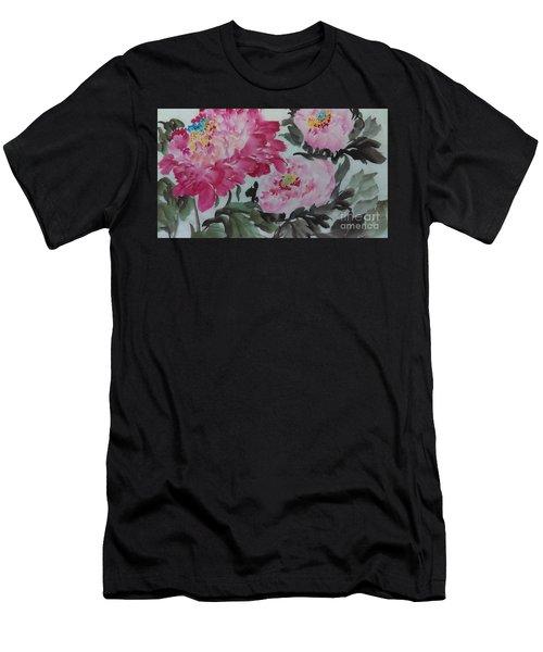 Peoney20161229_2 Men's T-Shirt (Athletic Fit)