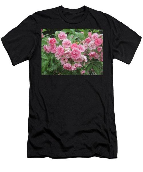 Peonies At Glen Magna Farms Men's T-Shirt (Athletic Fit)