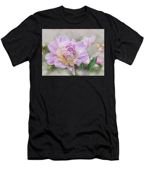 Peony 2 Men's T-Shirt (Athletic Fit)
