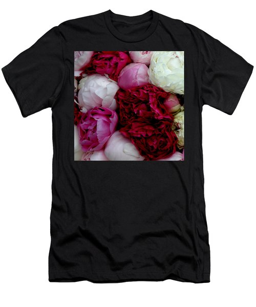 Peony Bouquet Men's T-Shirt (Athletic Fit)