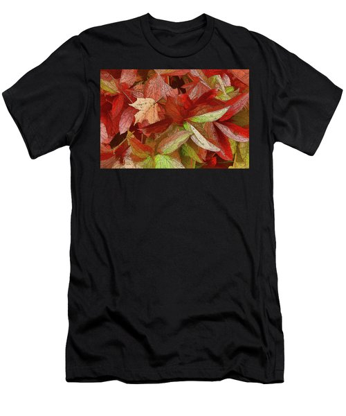 Peony Farewell Men's T-Shirt (Athletic Fit)