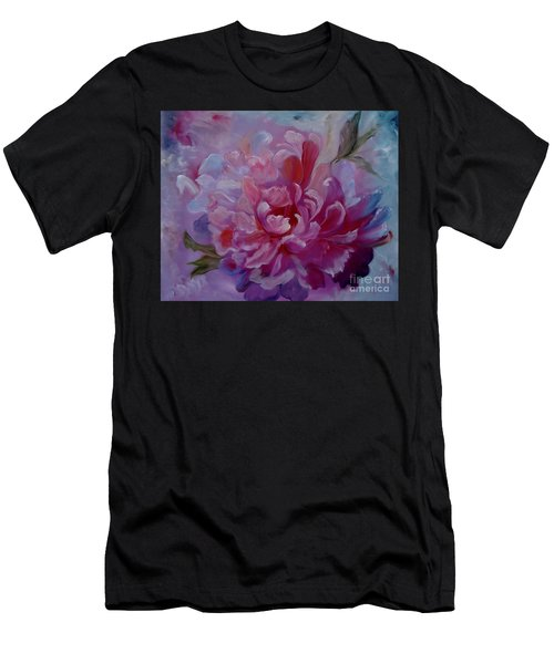 Peony Love Men's T-Shirt (Athletic Fit)