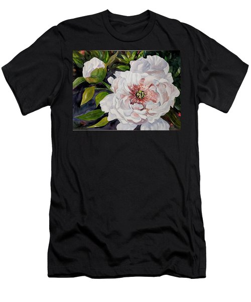 Peony Pals Men's T-Shirt (Athletic Fit)
