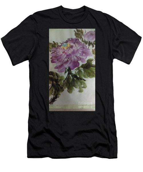 Peony20170126_1 Men's T-Shirt (Athletic Fit)