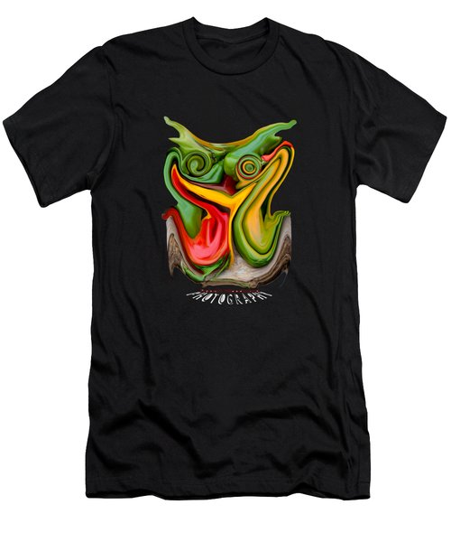 Pepper Strigiform Transparency Men's T-Shirt (Athletic Fit)