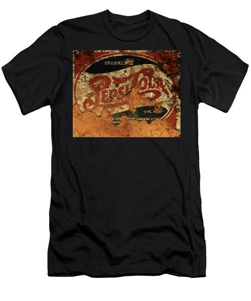 Pepsi Cola Vintage Sign 5b Men's T-Shirt (Athletic Fit)