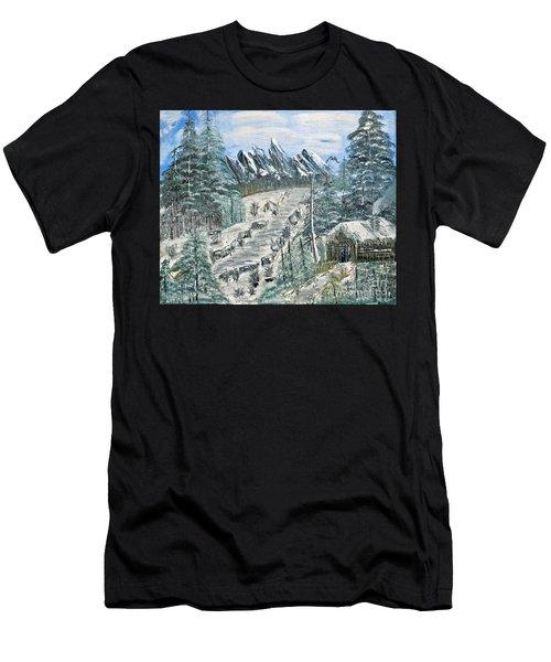 Per Il Mio Figlio Men's T-Shirt (Athletic Fit)