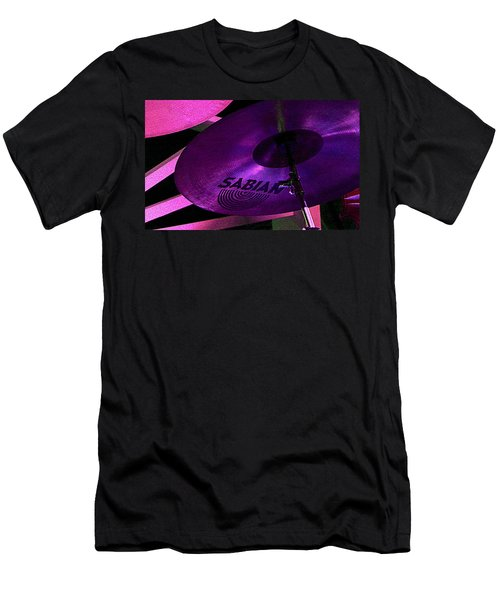 Men's T-Shirt (Slim Fit) featuring the photograph Percussion by Lori Seaman