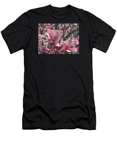 Perfect Pink Petals Men's T-Shirt (Athletic Fit)