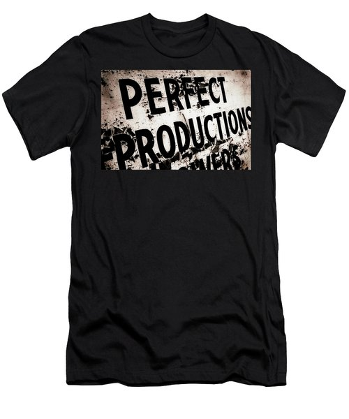 Men's T-Shirt (Slim Fit) featuring the photograph Perfect Productions by Gray  Artus