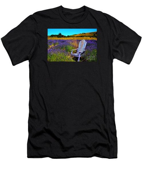 Perfect Purple  Men's T-Shirt (Athletic Fit)