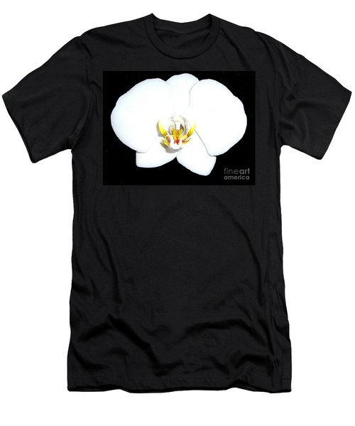 Perfect White Orchid Men's T-Shirt (Athletic Fit)