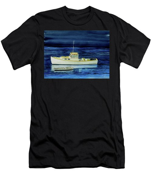 Perkins Cove Lobster Boat And Skiff Men's T-Shirt (Athletic Fit)