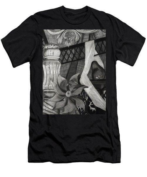 Perpeptual Pinwheel Men's T-Shirt (Athletic Fit)