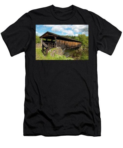 Perrine's Bridge In May Men's T-Shirt (Athletic Fit)