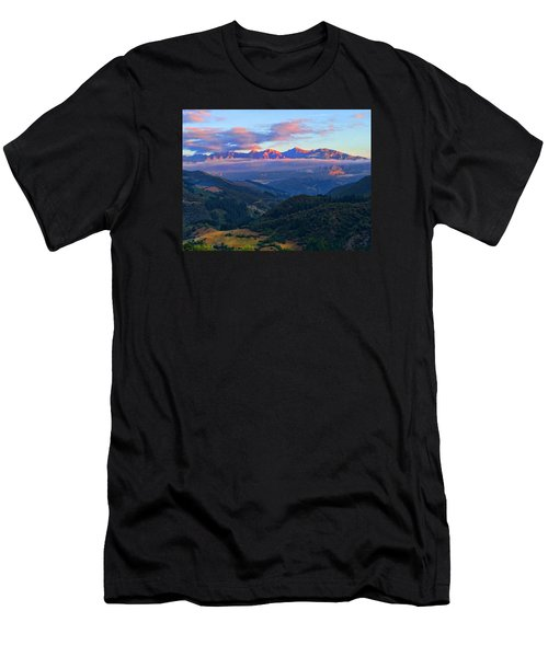Perrozo Morning Men's T-Shirt (Athletic Fit)
