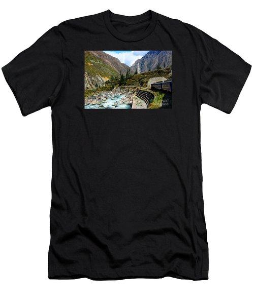 Peruvian Railway Men's T-Shirt (Athletic Fit)