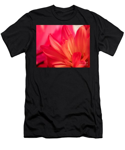 Petal Abstract Men's T-Shirt (Athletic Fit)