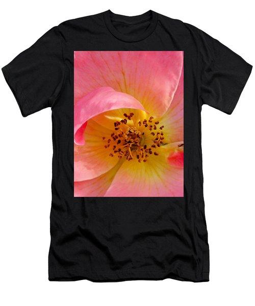 Petal Pink Men's T-Shirt (Athletic Fit)