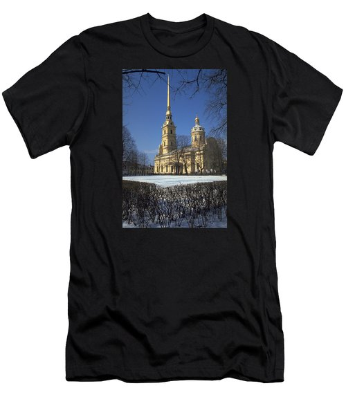 Peter And Paul Cathedral Men's T-Shirt (Athletic Fit)