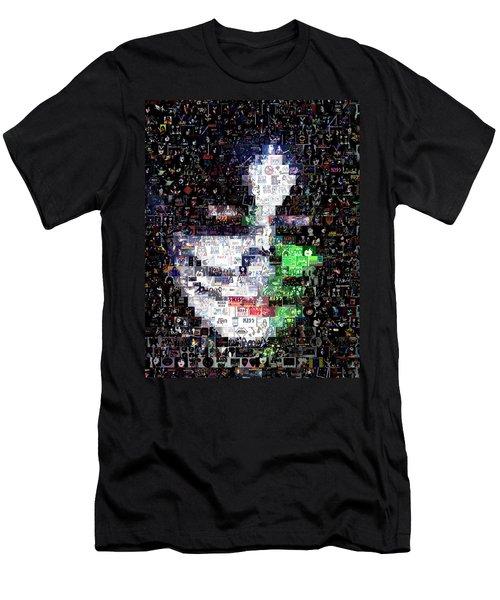 Peter Criss Kiss Mosaic Men's T-Shirt (Athletic Fit)