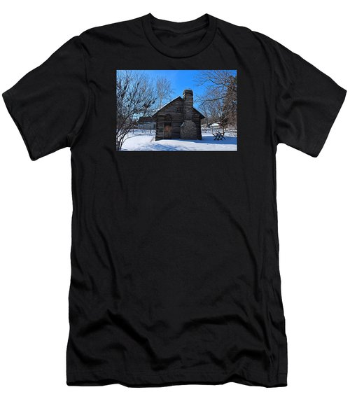 Peter Navarre Cabin I Men's T-Shirt (Athletic Fit)