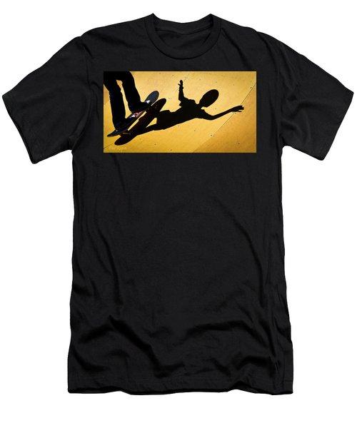 Peter Pan Skate Boarding Men's T-Shirt (Athletic Fit)