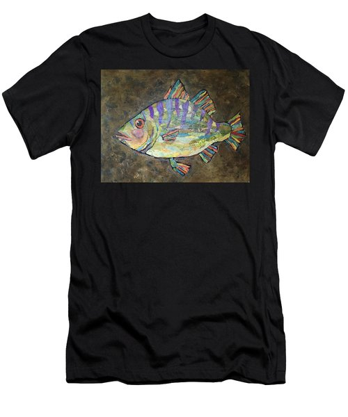 Peter The Perch Men's T-Shirt (Athletic Fit)