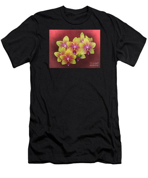 Phalaenopsis Orchid Flower Men's T-Shirt (Athletic Fit)