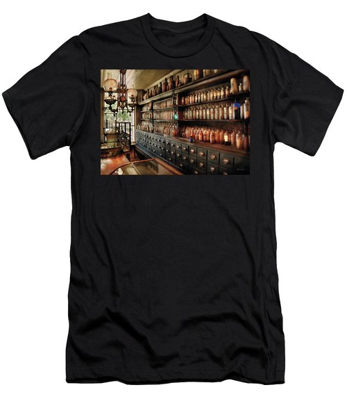 Pharmacy - So Many Drawers And Bottles Men's T-Shirt (Athletic Fit)