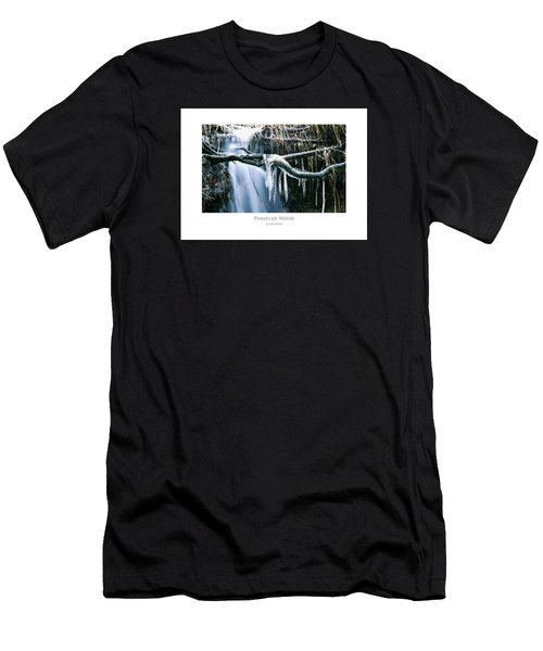 Men's T-Shirt (Athletic Fit) featuring the digital art Phases Of Water by Julian Perry