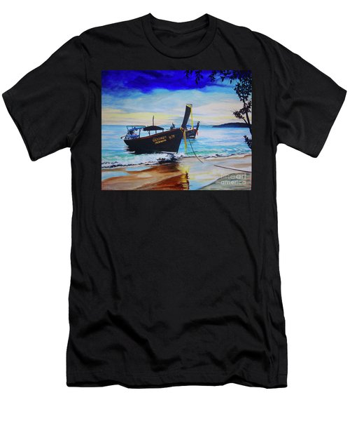 Phi Phi Men's T-Shirt (Slim Fit) by Stuart Engel