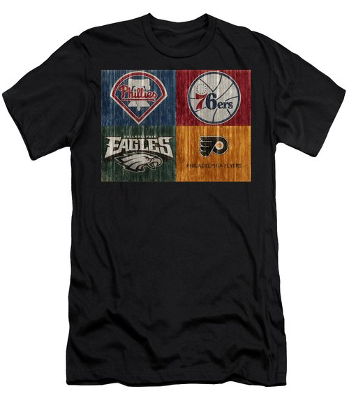 Philadelphia Sports Teams Men's T-Shirt (Athletic Fit)