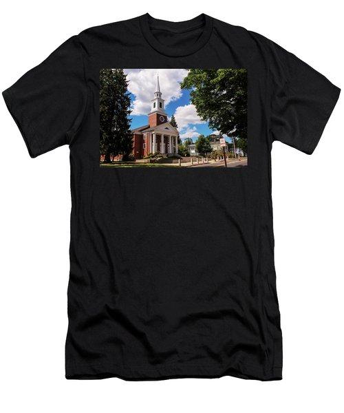 Phillips Stevens Chapel, Williston Northampton School, Easthampton, Ma Men's T-Shirt (Athletic Fit)