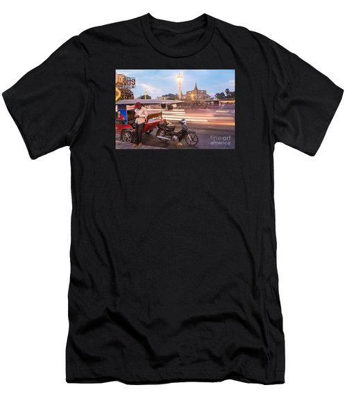 Phnom Penh Tuk Tuk Men's T-Shirt (Athletic Fit)