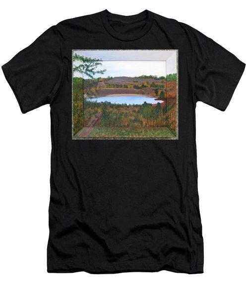 Phoenix Lake Men's T-Shirt (Athletic Fit)
