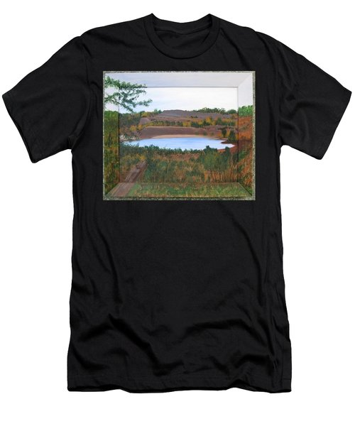 Phoenix Lake Men's T-Shirt (Athletic Fit)