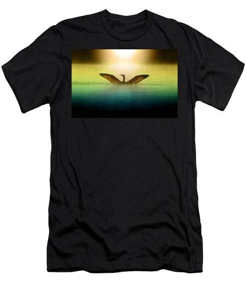 Phoenix Rising Men's T-Shirt (Slim Fit) by Rob Blair