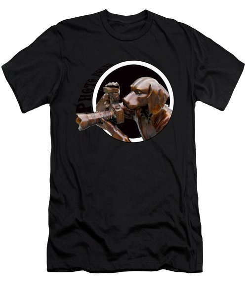 Photo Hound Men's T-Shirt (Athletic Fit)