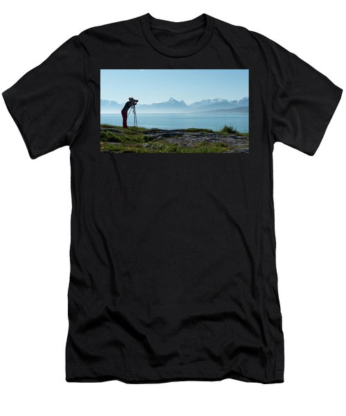Photograph In Norway Men's T-Shirt (Athletic Fit)