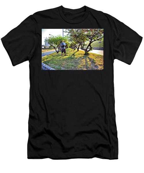 Men's T-Shirt (Slim Fit) featuring the photograph Photographer by Brian Wallace