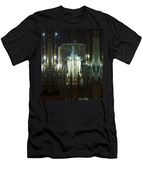 Photography Lights N Shades Sagrada Temple Download For Personal Commercial Projects Bulk Printing Men's T-Shirt (Athletic Fit)