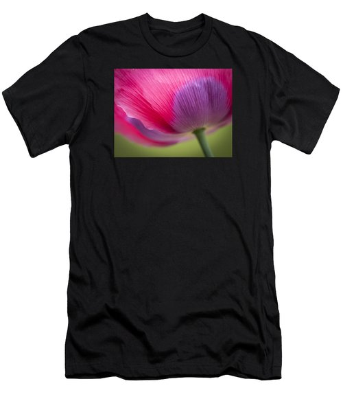 Poppy Close Up Men's T-Shirt (Athletic Fit)
