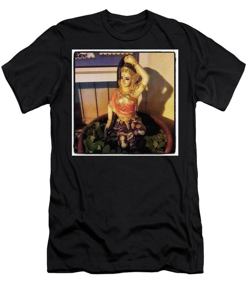 Men's T-Shirt (Athletic Fit) featuring the photograph Phra Mae Thorani. Holy Mother Of Earth by Mr Photojimsf