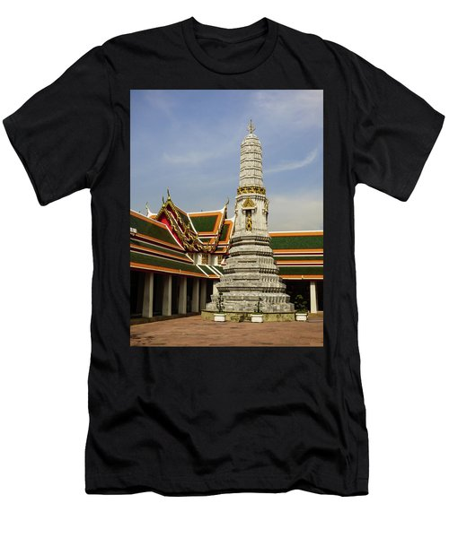 Phra Prang Tower At Wat Pho Temple Men's T-Shirt (Athletic Fit)