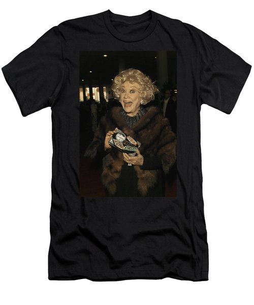 Phyllis Diller Men's T-Shirt (Slim Fit) by Nina Prommer