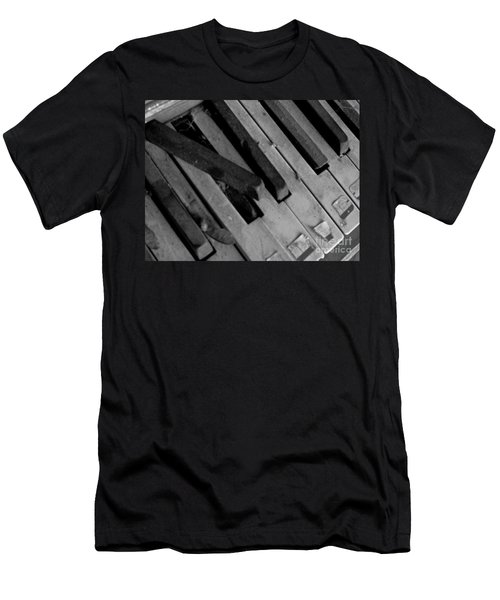 Piano2 Men's T-Shirt (Athletic Fit)