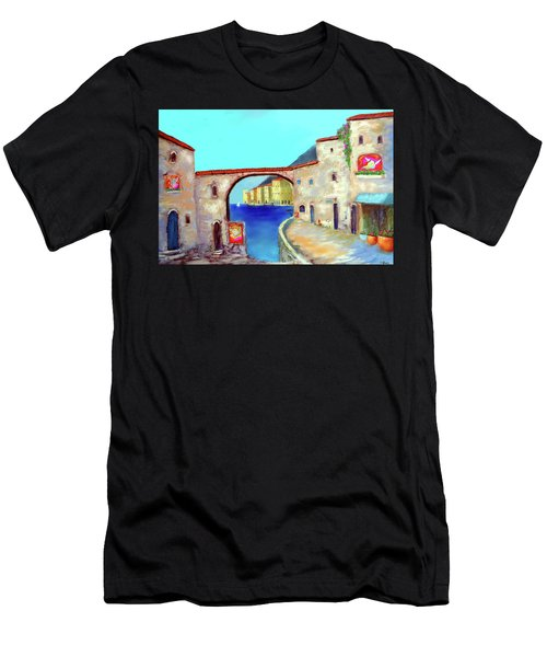 Piazza Del La Artista Men's T-Shirt (Athletic Fit)
