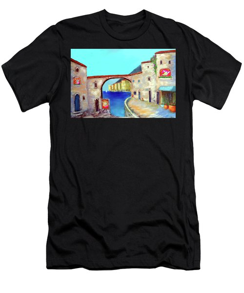 Piazza Del La Artista Men's T-Shirt (Athletic Fit)
