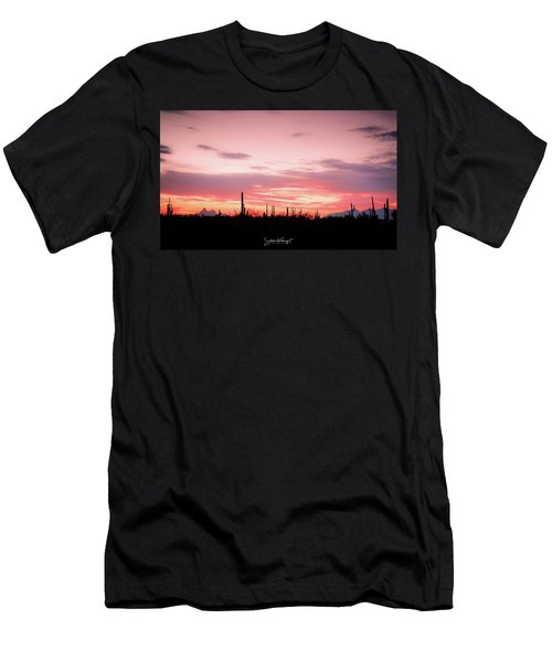 Picacho Sunset Men's T-Shirt (Athletic Fit)
